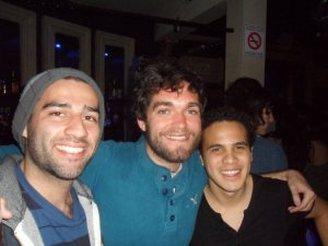 Omar, me and Ivan