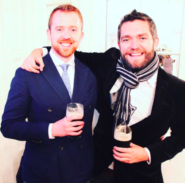 At a recent wedding in Ireland. Drank all of the Guinness.