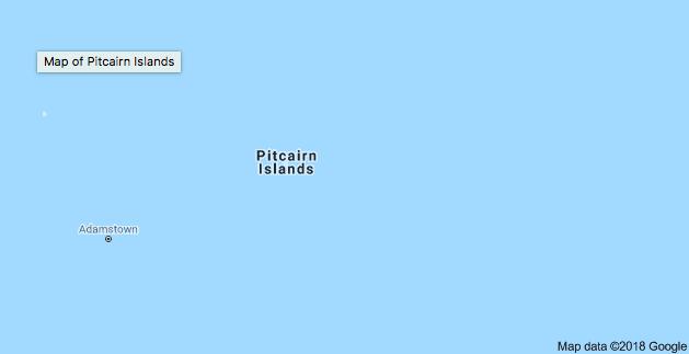 One of my favourite views of Pitcairn - via Google