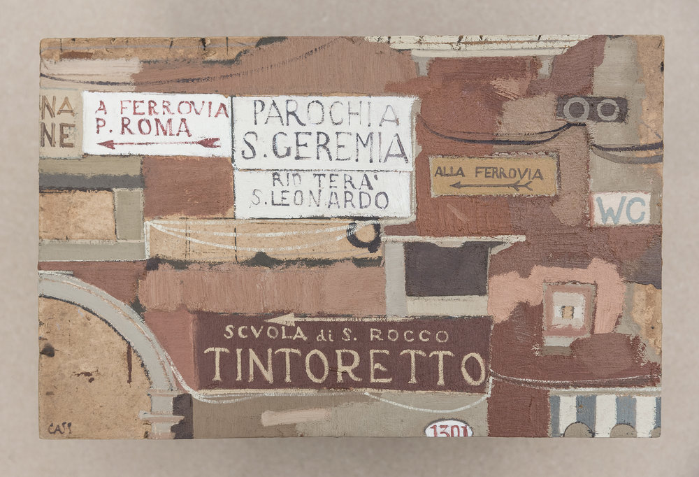 Varòt (Patchwork) 28 x 18 cm / Oil Sold