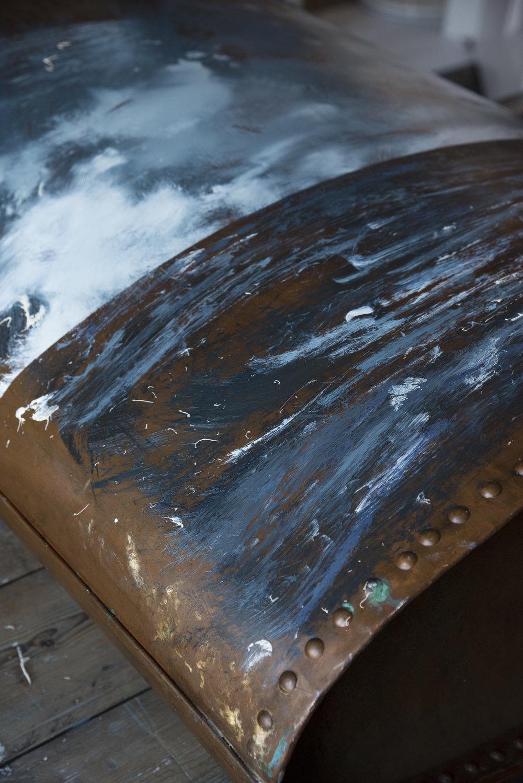 Copper Boiler Seascape   Process by David Cass