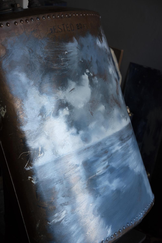 Copper Boiler Seascape | Process by David Cass