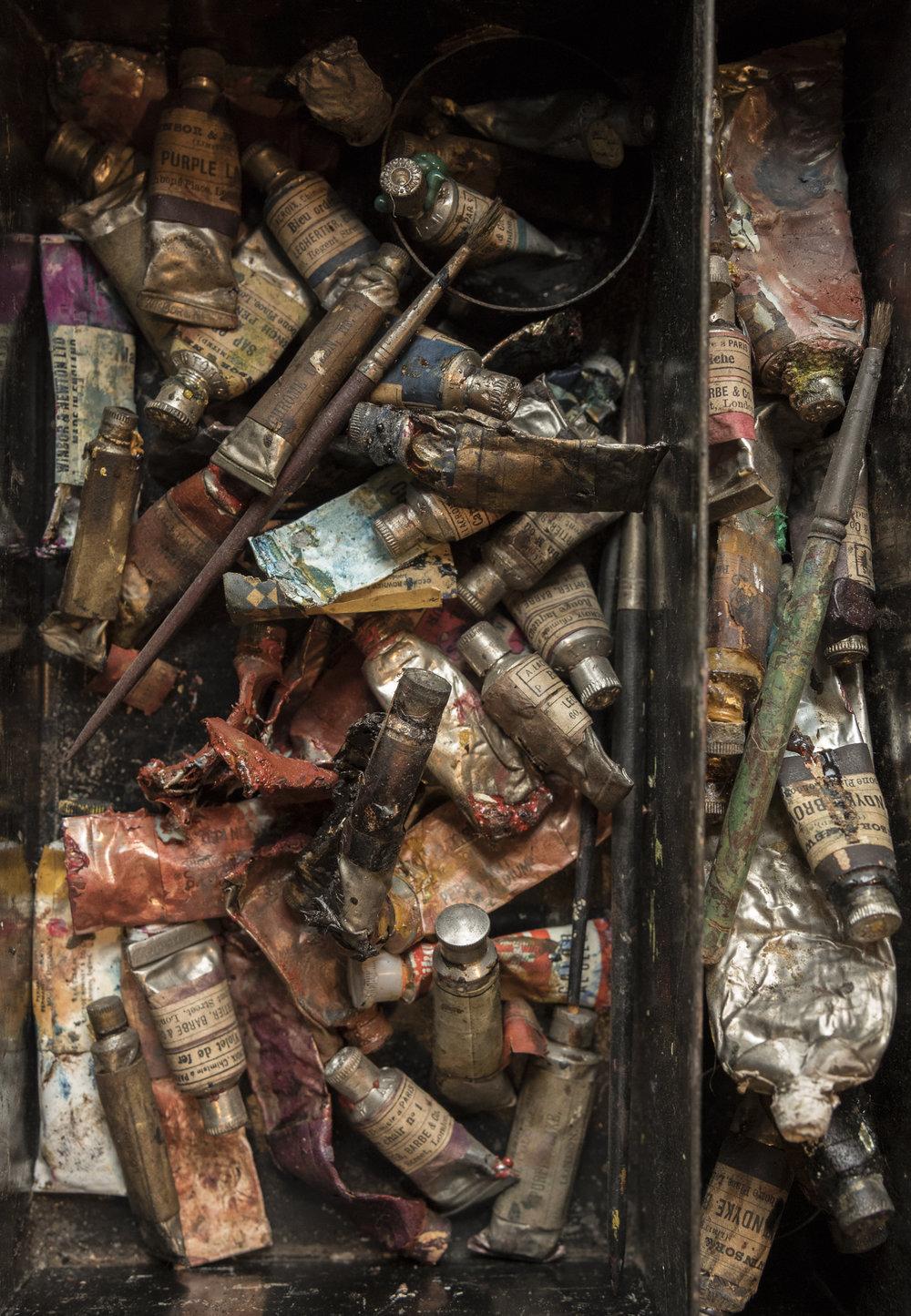 Artist Box   Process by David Cass