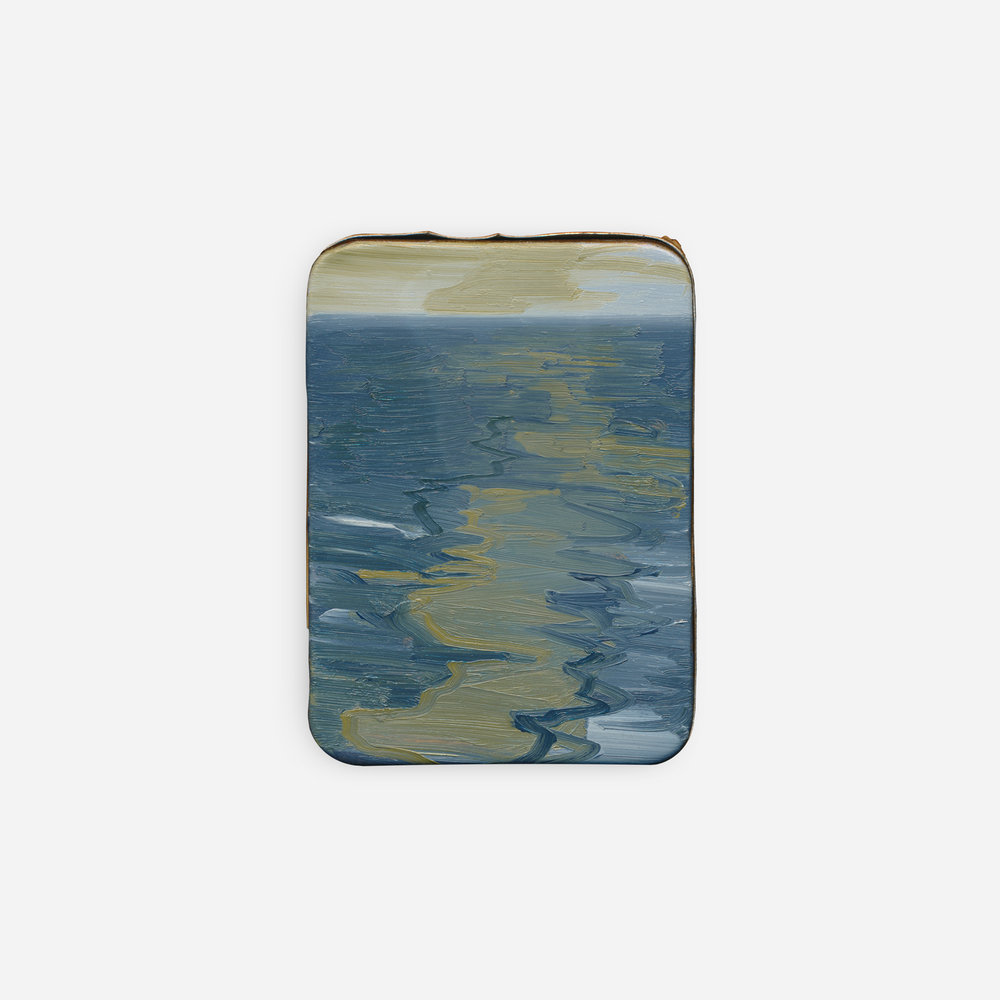 87%  2019 Oil on tin · 7.5 x 5.5 cm (framed) · Sold