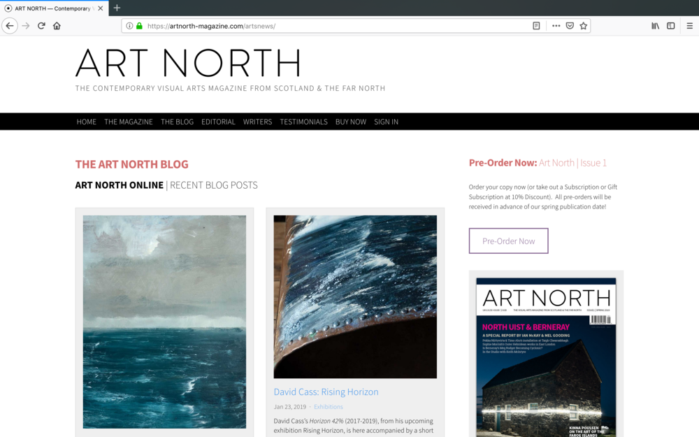 Art North Website