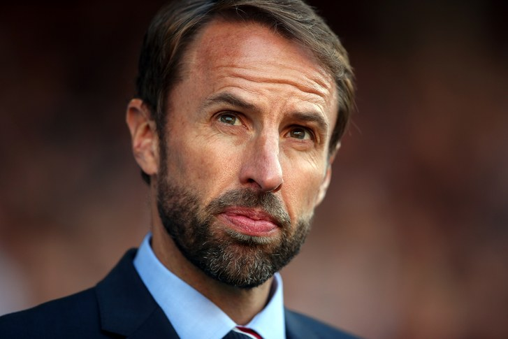 England Football Manager Gareth Southgate. Image courtesy of The New Yorker.