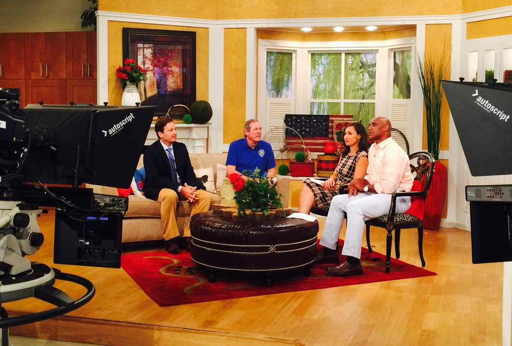 WCNC Charlotte Today Camp Blue Skies Dick Sesler Dr. Peter Cox Dynamic Health & Pain Management