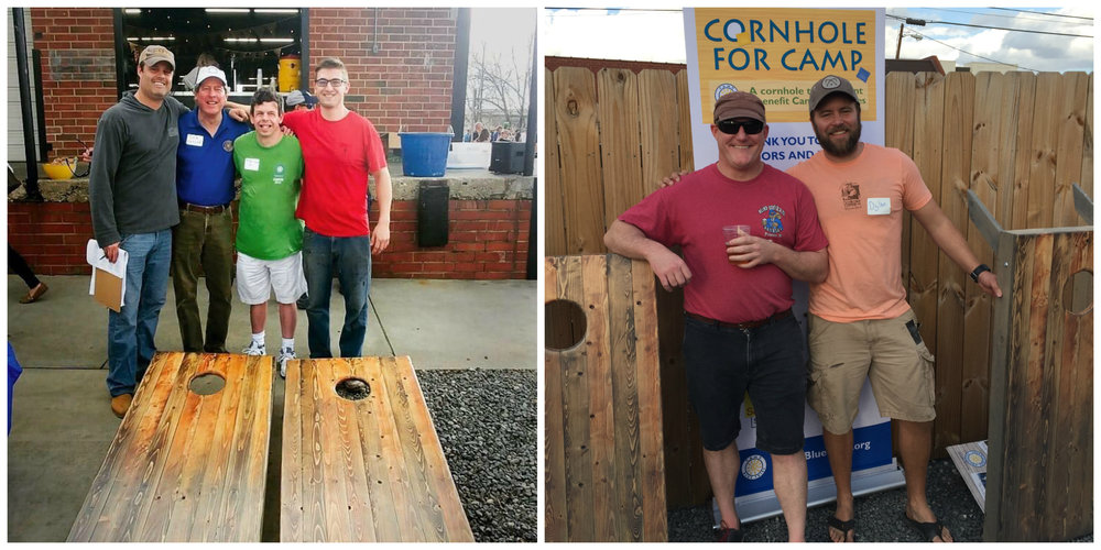 Photo on left (l-r): Jonathan Beall, Richard Sesler, Brent Sesler, and Dave Rudel. Photo on right (l-r): Kevin Watson and Dylan Ellerbee