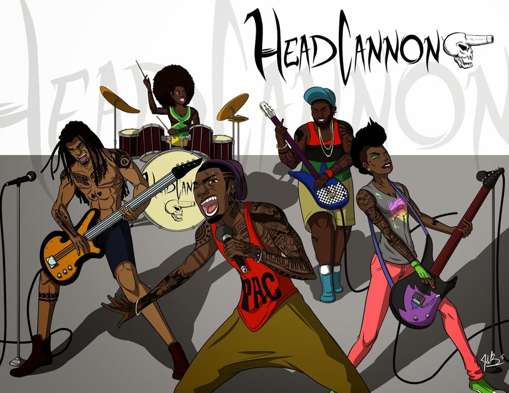 Headcannon Band Spread