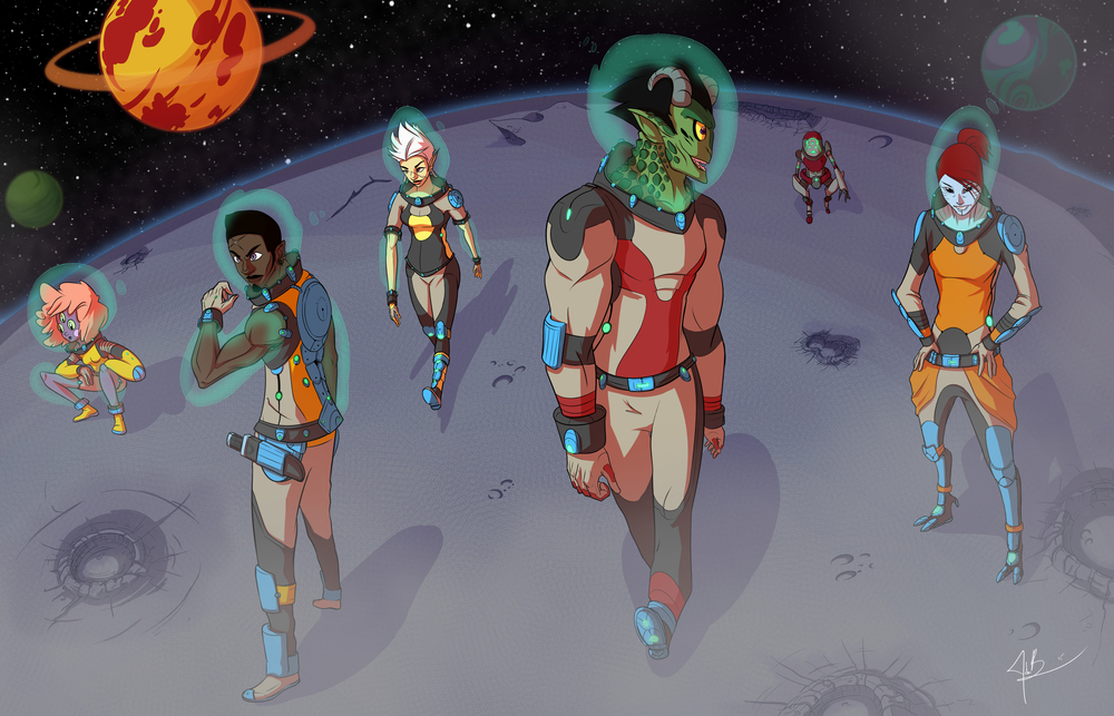 Crew of the Starship Cirrion