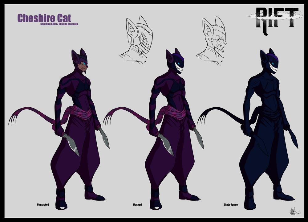 RIFT - Smiling Assassin the Cheshire Cat