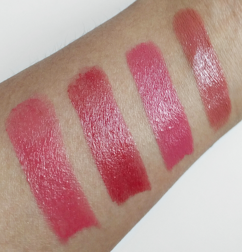 Clarins Rouge Eclat Swatches