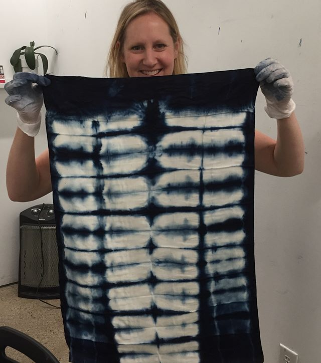 More Shibori Workshop dates available @trestleworkshops sign up on their site. July 14 is the next one! Use RUHL10 for 10% off! 😘