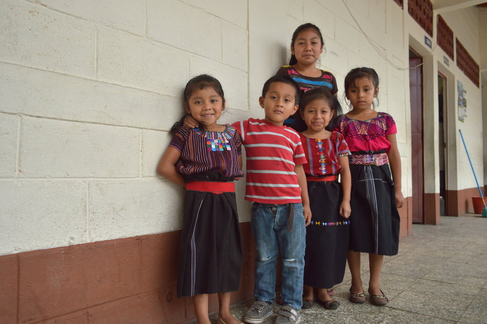 Children from San Juan la Laguna School