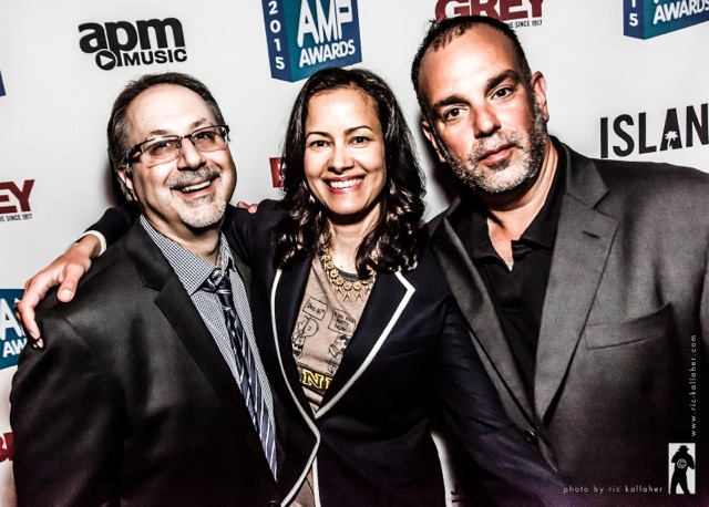 Three AMP Awards Advisory Board Chairs: 2015's Paul Greco, BBDO's Rani Vaz, Grey's Josh Rabinowitz
