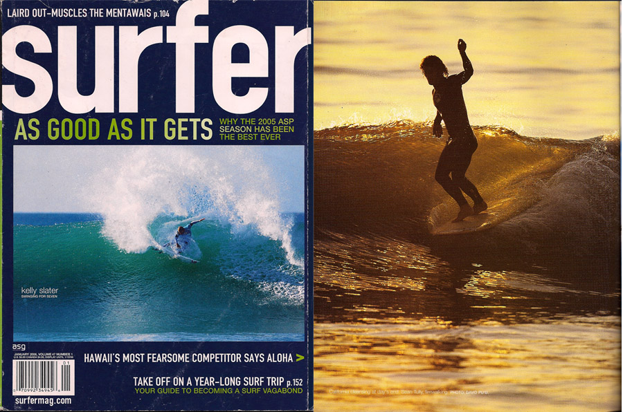 Surfer Magazine /// Full Page Spread