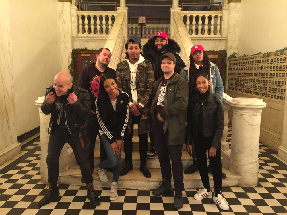 ( L-R: Row One: Papi Beatz,   The Franchiise  , Boathouse,   Jasmine Jeanine   (  Spotify  ). Row Two: Jaime Black, Thelonious Martin, Jack Red, AmbI Lyrics )