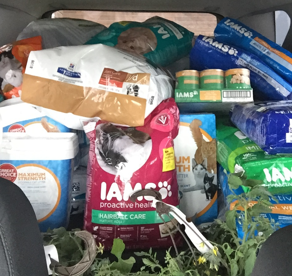 Another successful food drive, this time for the victims of the Fort McMurray fire