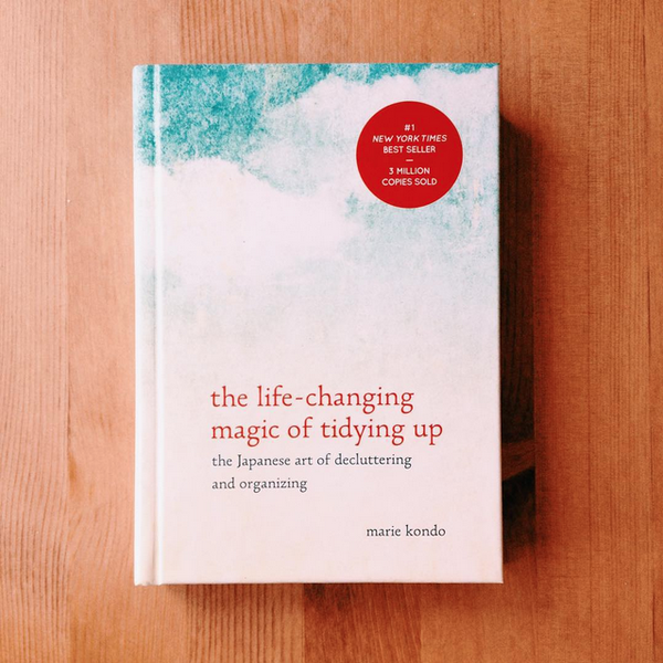 Life changing magic of tidying up Marie kondo