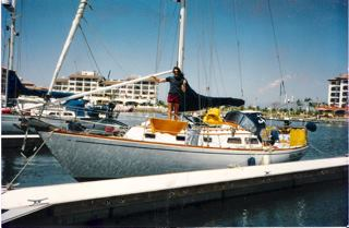 Padretimo and his heady days aboard the Scallywag in the 1990s.