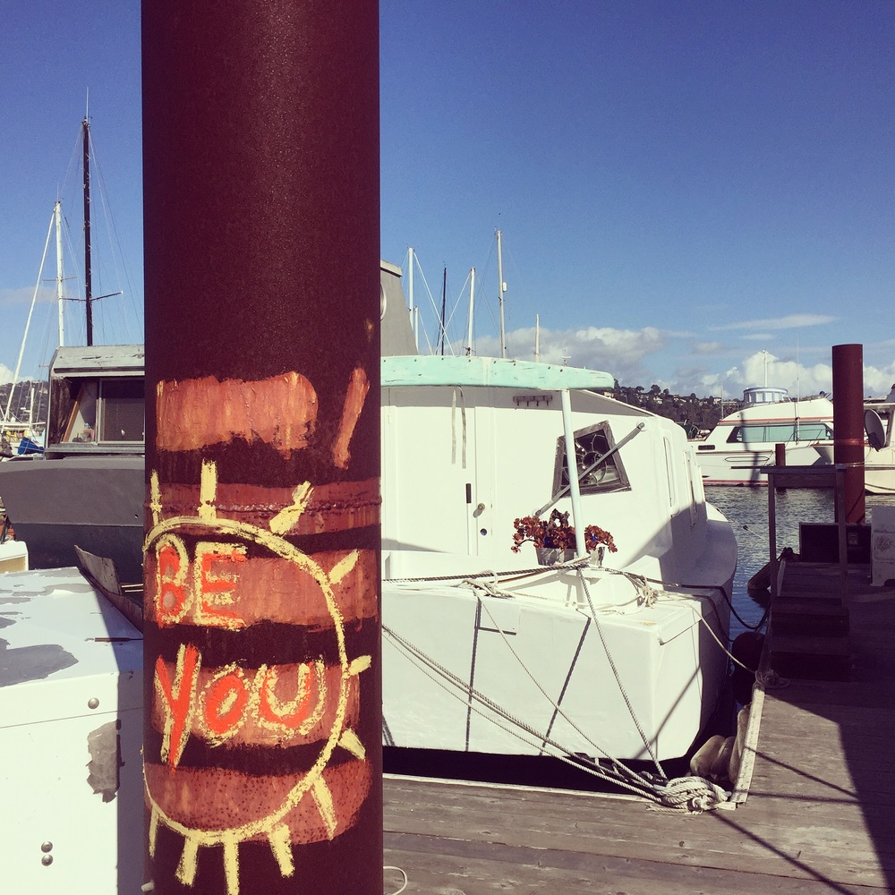 Napa St. Galilee Sausalito Houseboat Art