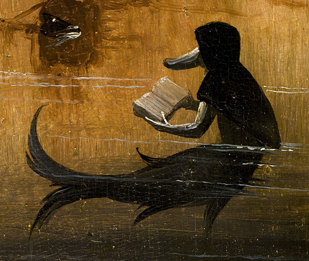 Detail from Hieronymus Bosch, The Garden of Earthly Delights