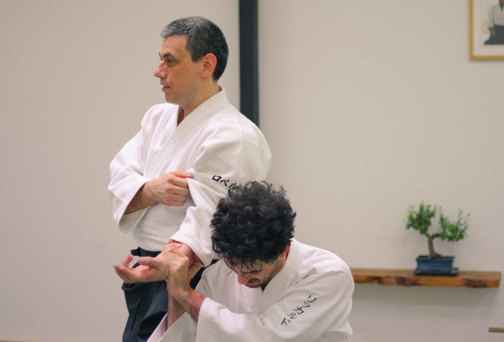 aikido-bologna-travaglini-lezione