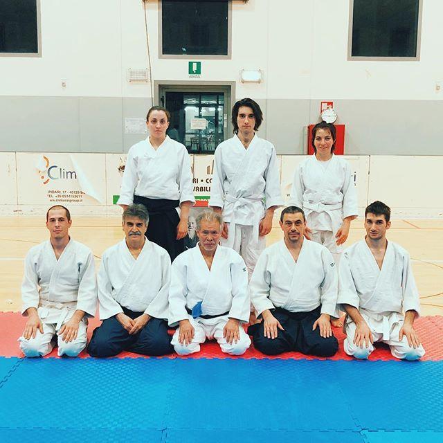 Gruppetto Fujinami in trasferta a Modena per la lezione di Miyamoto Shihan 🌊🙌💪