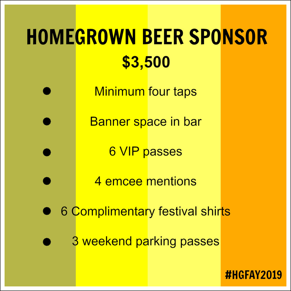 FEATURE YOUR BREW.. - CLICK THE BEER SPONSOR LINK ABOVE TO SECURE YOUR TAPS, TODAY!