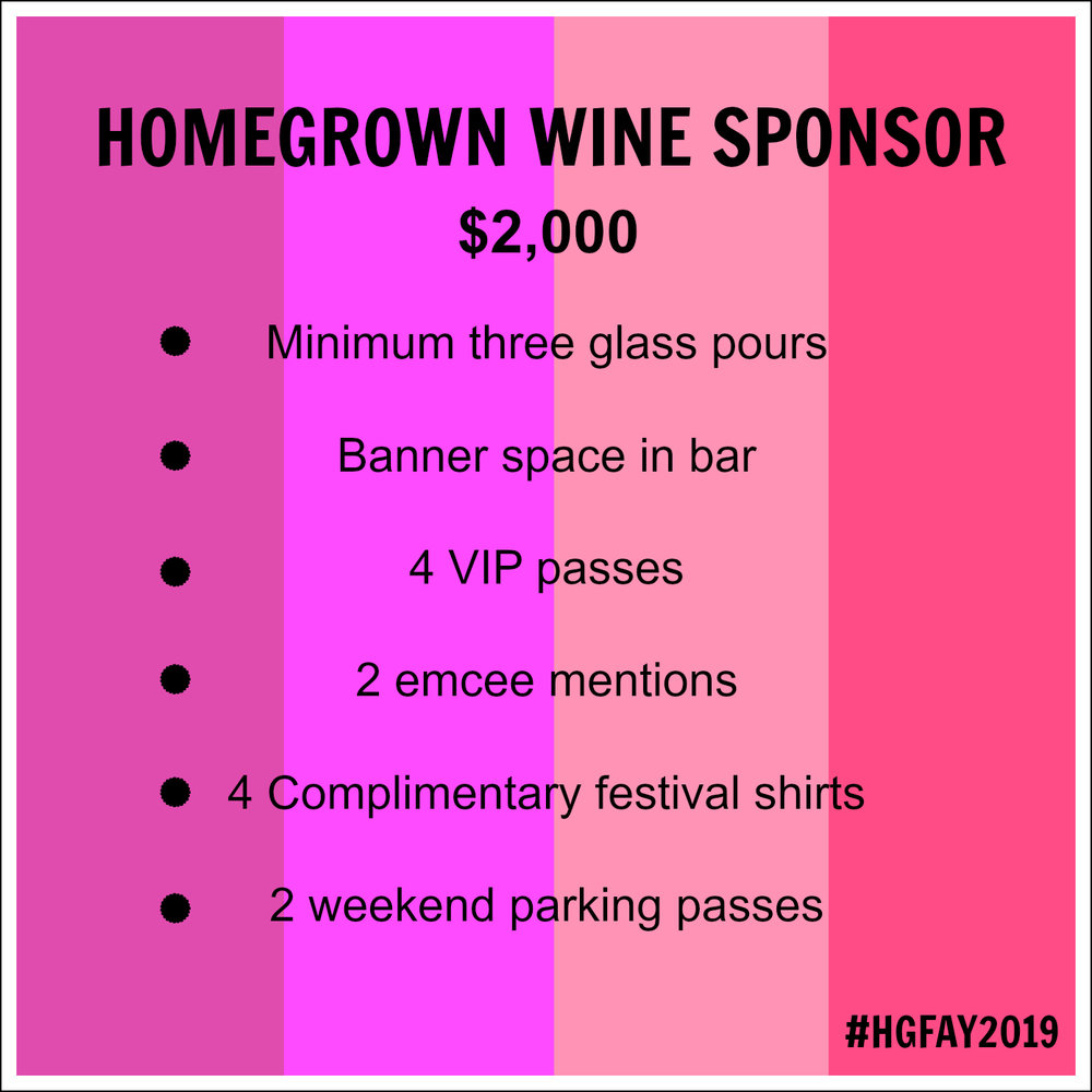 WINE ALL THE TIME.. - CLICK THE WINE SPONSOR LINK ABOVE TO SECURE YOUR GLASS POURS, TODAY!