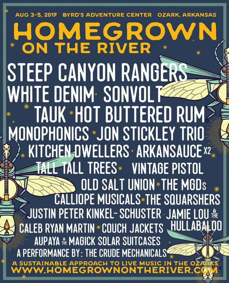 Homegrown on the River Lineup 2017
