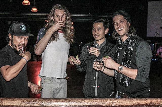 🥃 🥃 🥃 🥃 #formerfaces #drinkinbuddies #supportlocalmusic #silverlakemusic #losangelesmusic #silverlake #psychedelicart #psychedelicrock #indieband #indiemusic #indierock