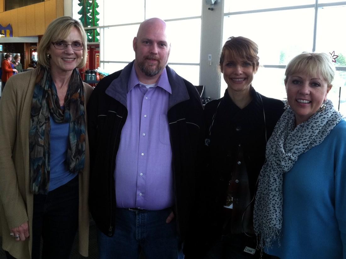 Nancy, Dave, Director Lynn Shelton, and Melanie