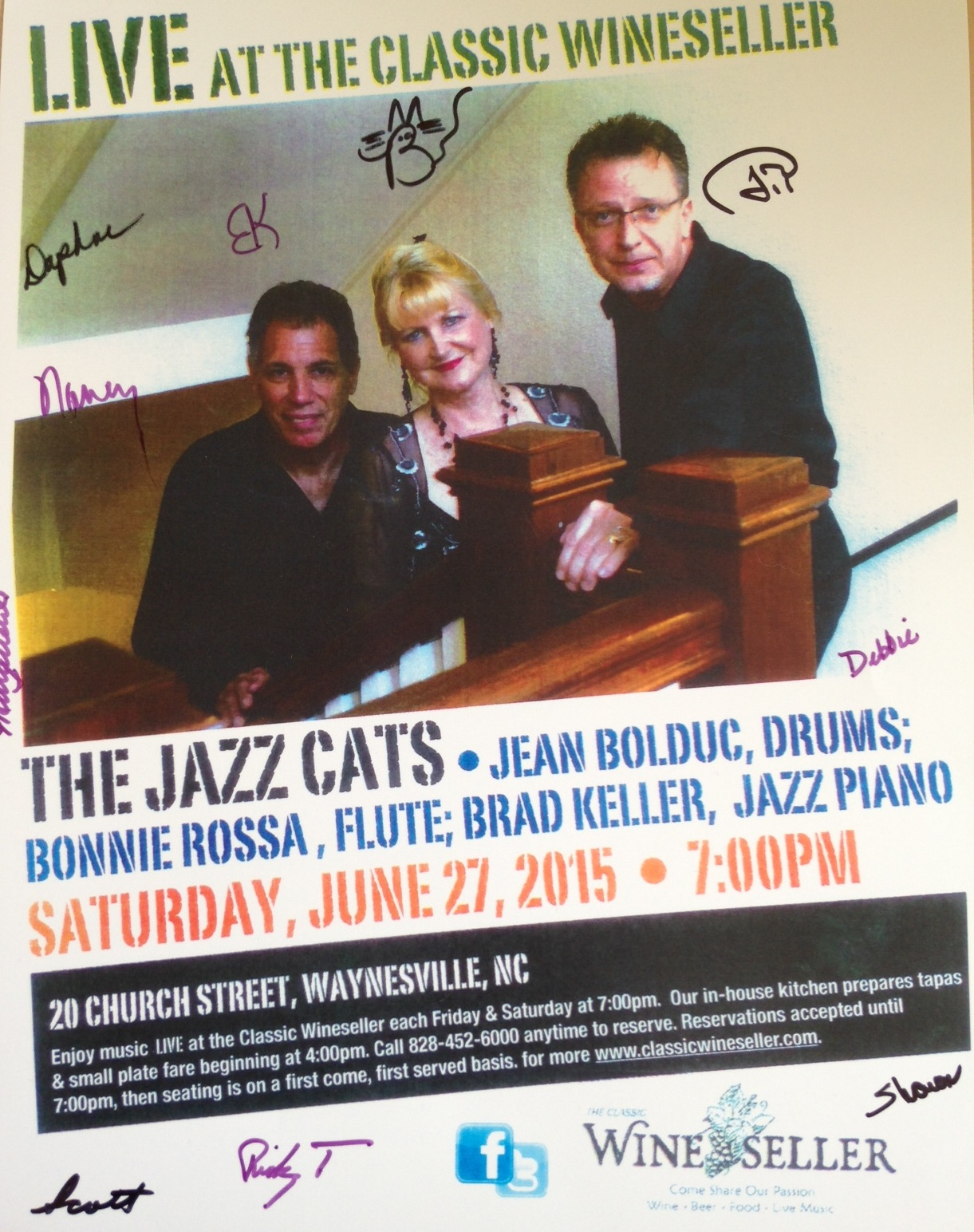 Jazz Cats promo poster