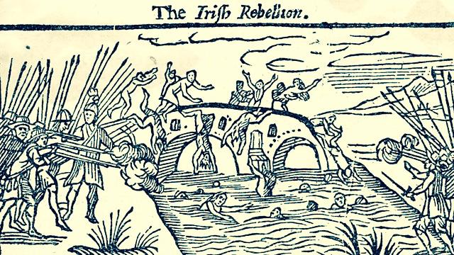Irish Rebellion 1641, Wikimedia Commons