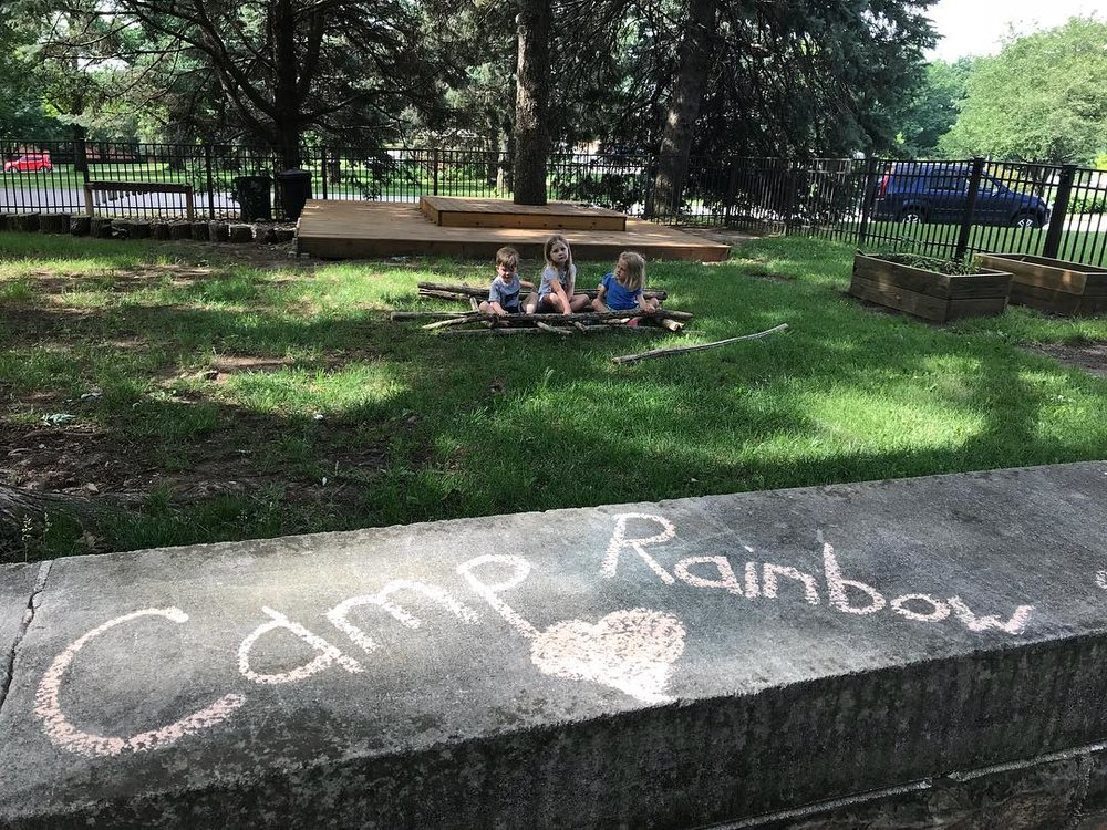 CAMP RAINBOW - Every June we offer summer camp for our students and preschool children in our community. Camp Rainbow takes place Monday through Thursday from 9:00am-12:00pm.  With engaging weekly themes, we ensure our campers have fun and develop friendships.