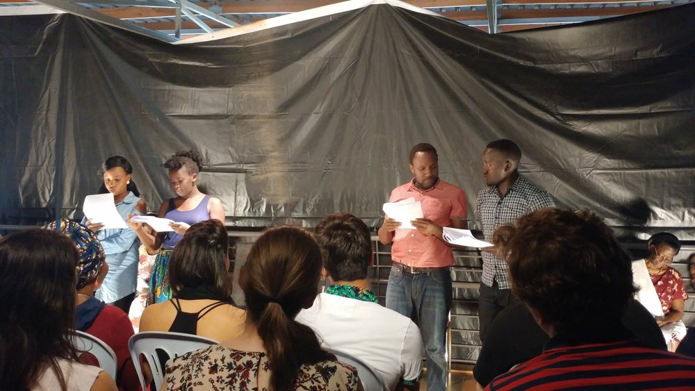 Staged reading of  The Surrogate  by Achiro Patricia Olwoch