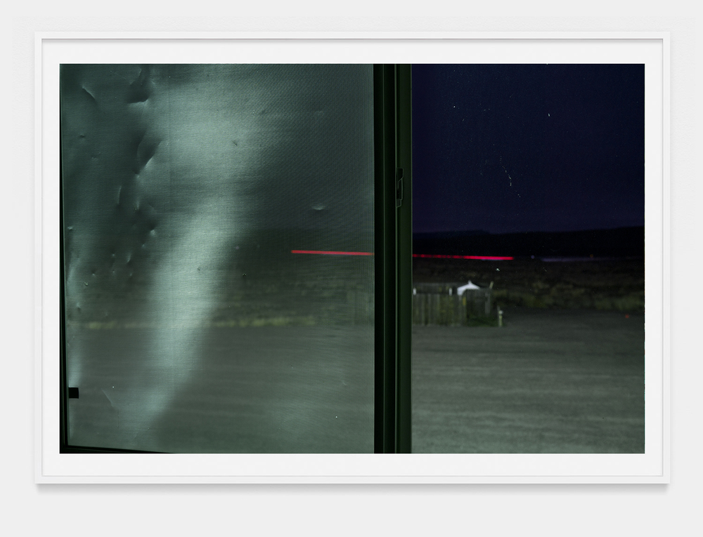 "'Night through the window'   2016 42""x64""      Archival pigment print."