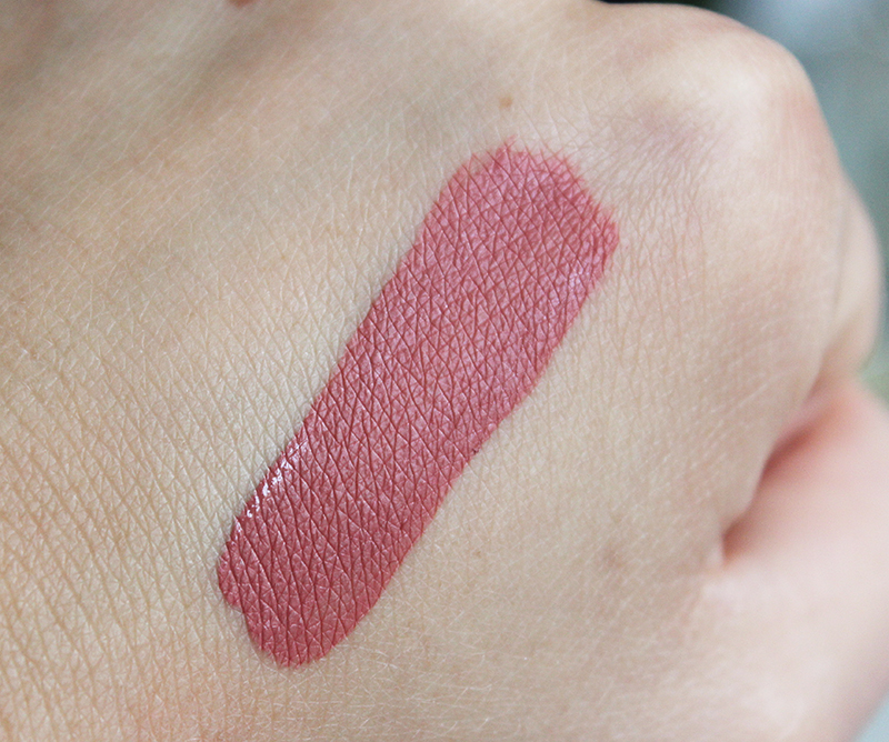 Swatch of Gerard Cosmetics Long Wear Hydra Matte Liquid Lipstick in Serenity