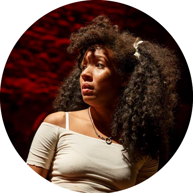 Nabiya Be in  Hadestown at New York Theatre Workshop
