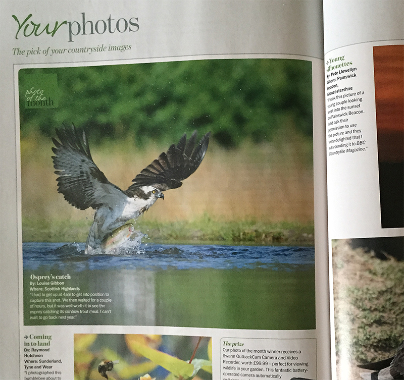 Louise Wins Countryfile Photo Of The Month