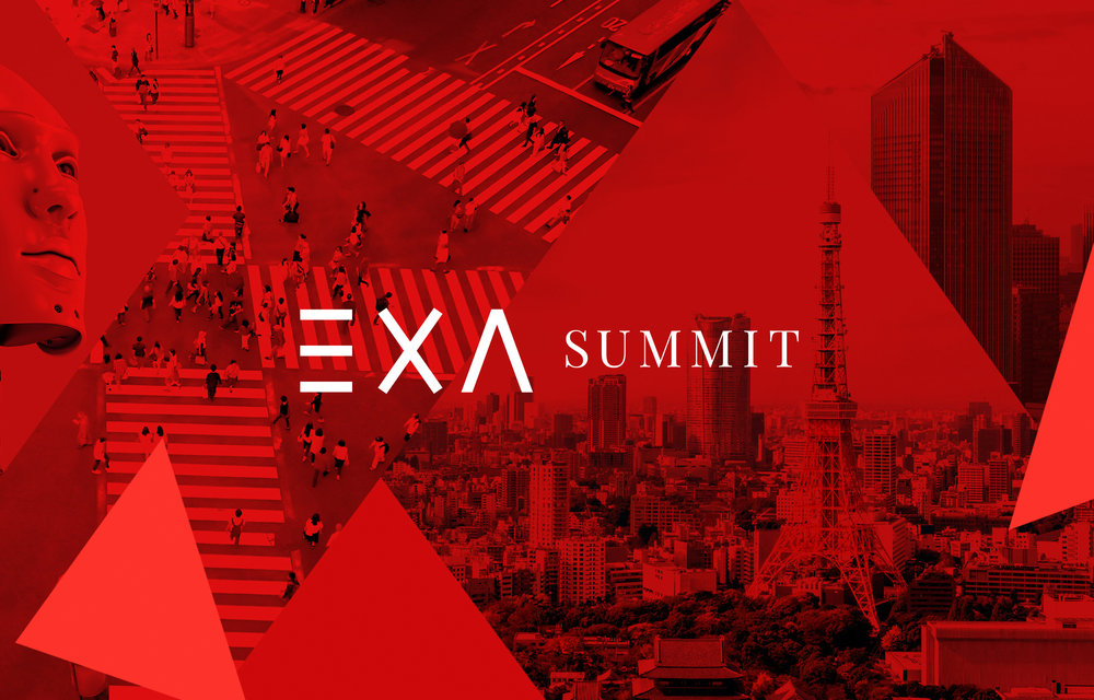 A visual identity that crosses the bridge between Europe and Asia. Shaping the future of mobility: ExA-Summit. -