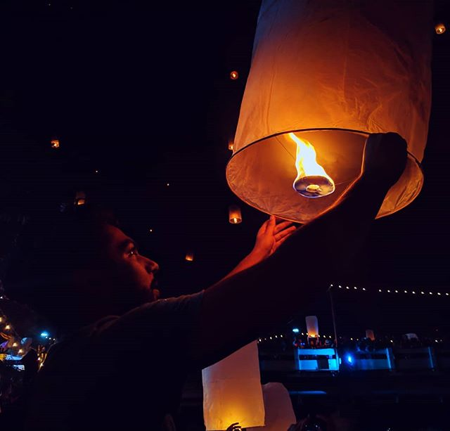 My goal in life is to do things that @zaynisarwar wants to do, before she gets to do them.  Jokes aside, Loi Krathong exceeded expectations! Photos don't do this event justice. . . . #thailand🇹🇭 #loikrathong #lanternfestival #flyinglantern #shotbypixel #teampixel #madebygoogle  #googlepixel #vscofilter #travelthailand #phonephotography #thecreatorclass