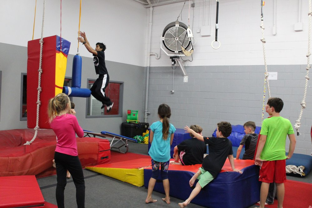 Ninja Warrior Instructional Party at The Agility Center