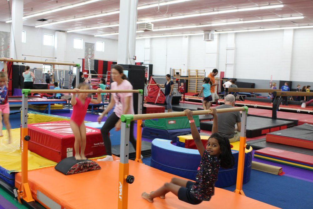 Open Gym party at Dynamite Gymnastics Center