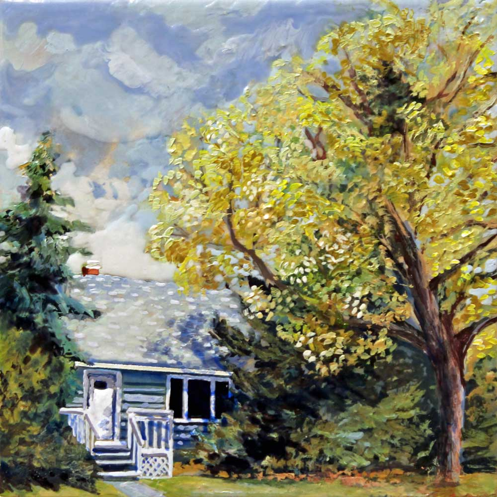 Bungalow, Acrylic Panel, 2018