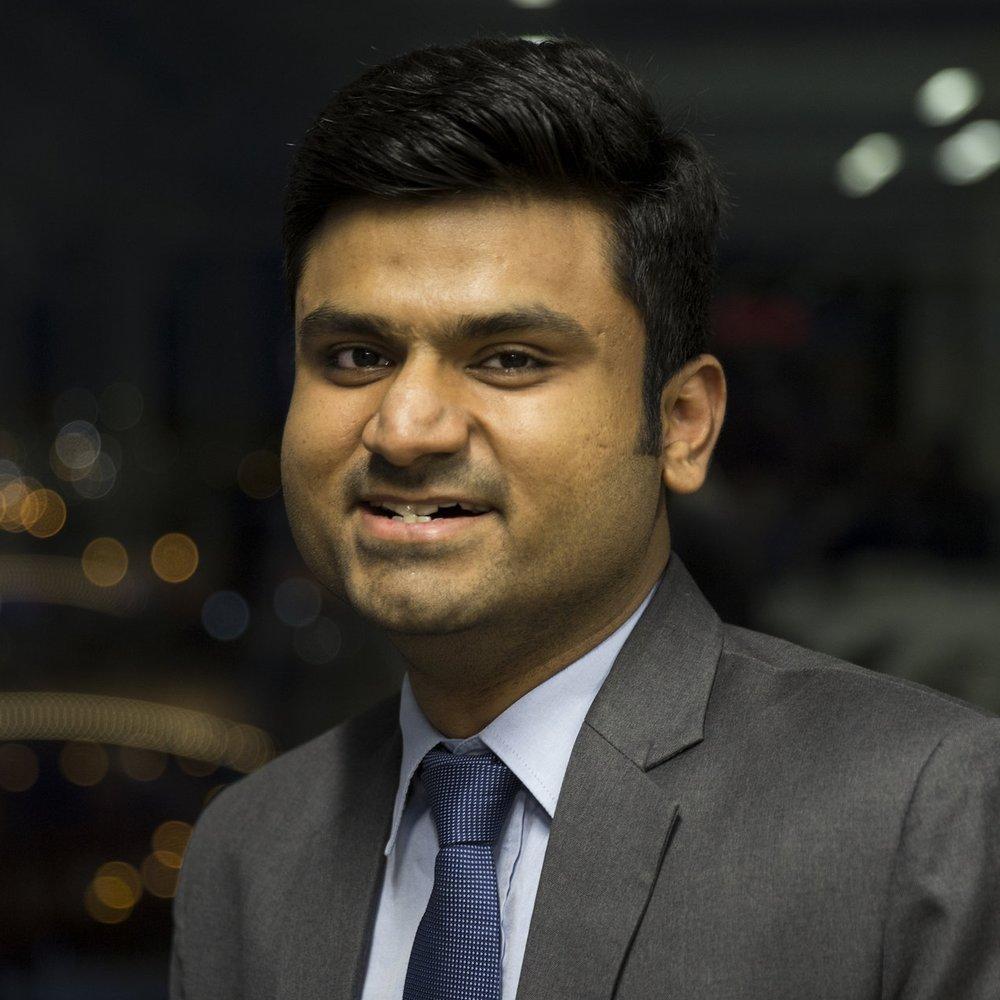 Arjun Balaguru  VP of Alumni Affairs