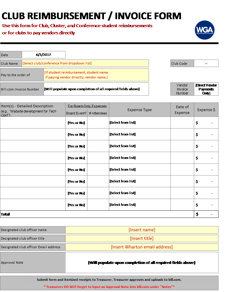 WGA Reimbursement Form screenshot.png