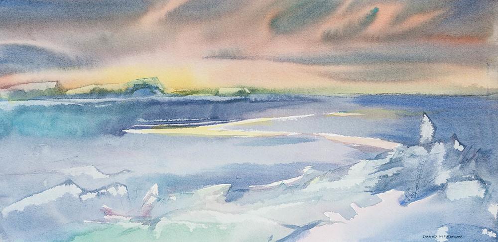 Summer Solstice - East Antarctica