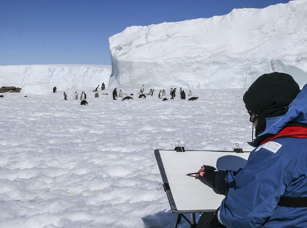 Amanda Bay Penguin rookery - Antarctica